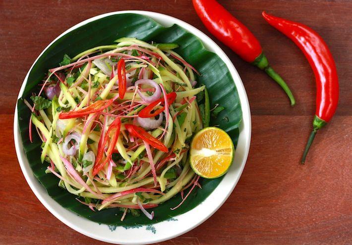 Season With Spice An Asian Spice Shop Mango Kerabu Salad Nyonya Food Healthy Salad Recipes Easy Asian Recipes