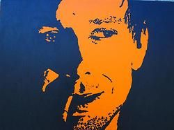 "Bryen Beglinger - ""Mikey Rourke as 'The Motorcycle Boy' in 'Rumble Fish' 1983"" @  Artlab Studios"