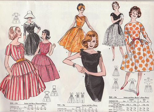 Butterick 1961 Spring Catalog by TheRealAstrogirl, via Flickr