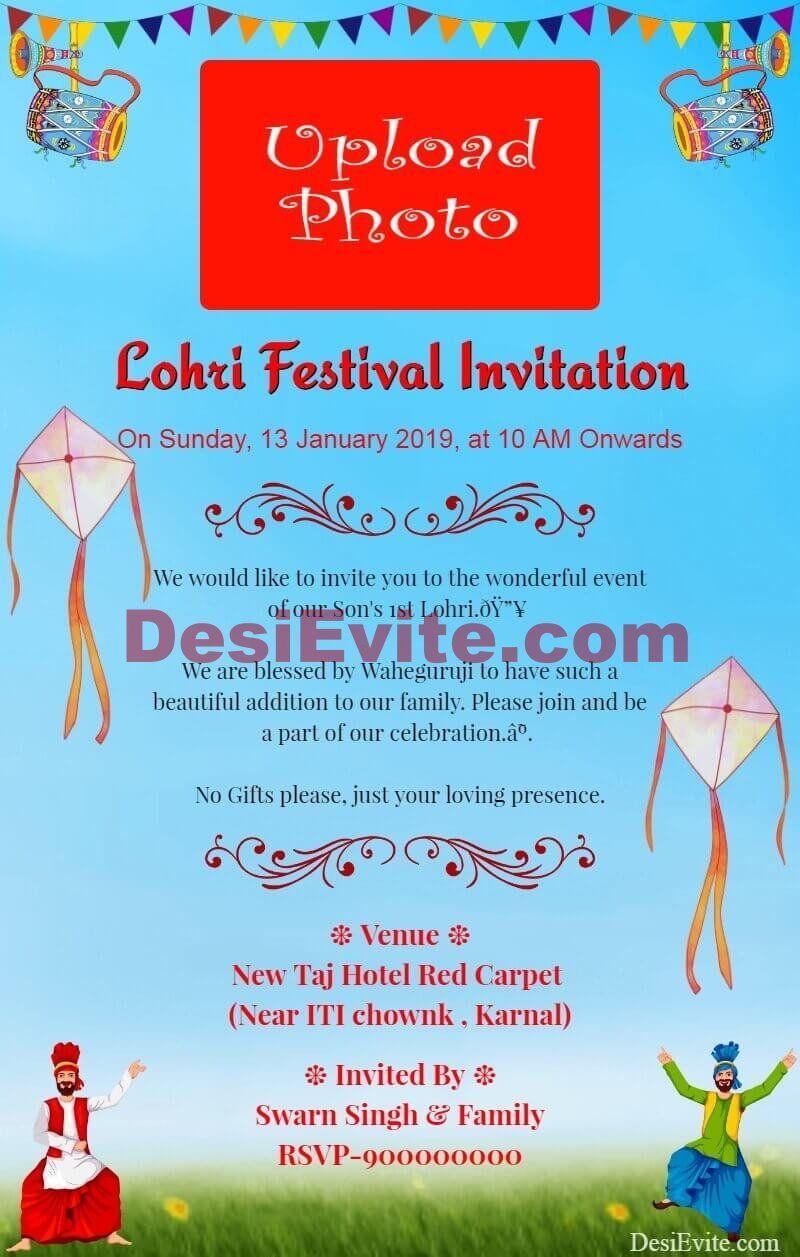 lohriinvitationcard  invitations invitation cards