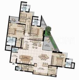 4 Bhk Apartment Flat For Sale In Brigade Exotica Old Madras Road Bangalore East 3630 Sq Ft To 3800 Sq F Apartment Floor Plans Floor Plans Apartment View