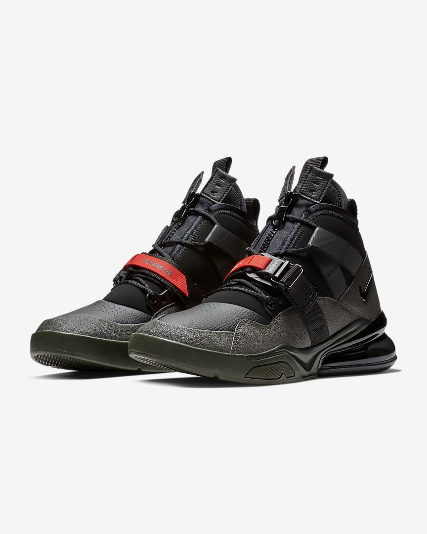 caliente Details about Nike Air Max 270 ISPA Black Dark