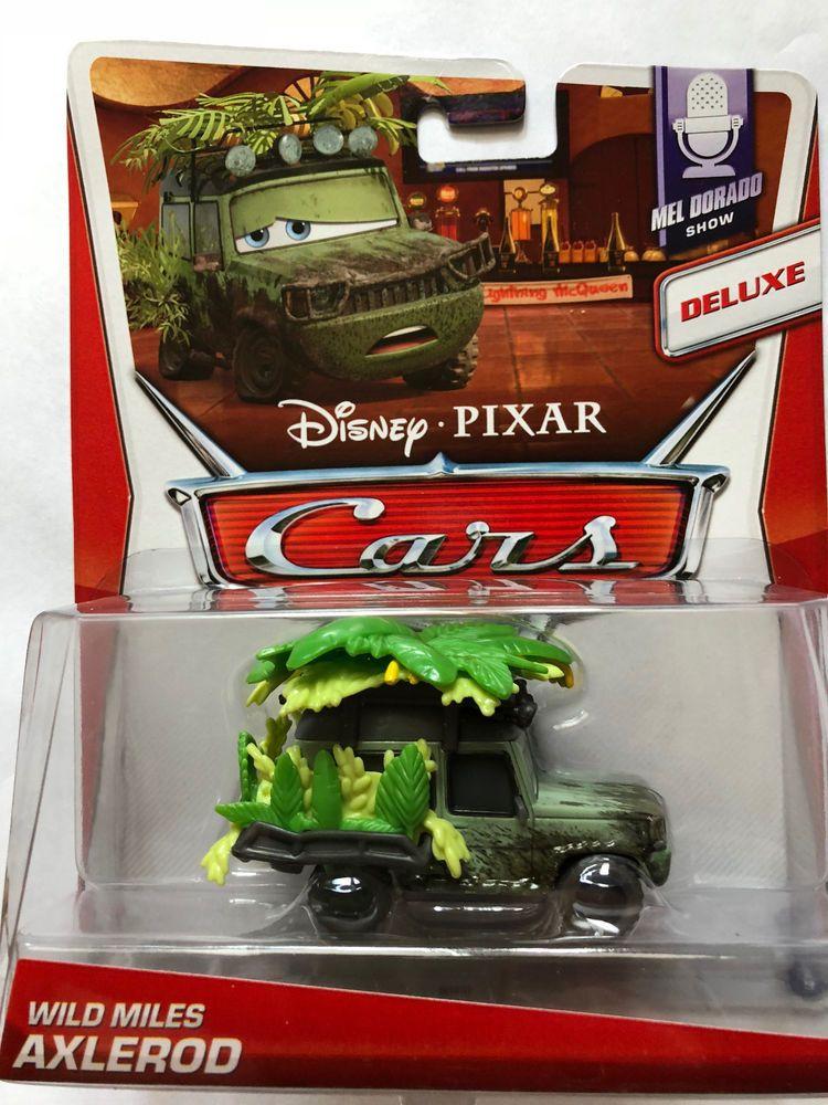 DISNEY PIXAR CARS 2 MEL DORADO SHOW SERIES WHEEL WELL GUIDO