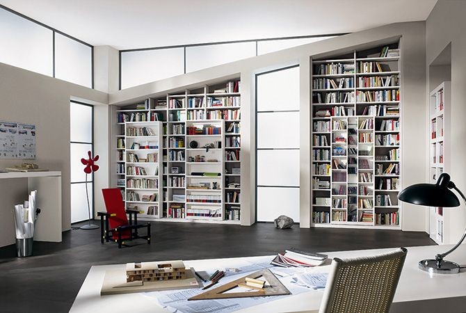 Super Quantum Bibliothek Bibliotheksbau Paschen Home Design Decor Shelving Interior Design Furniture
