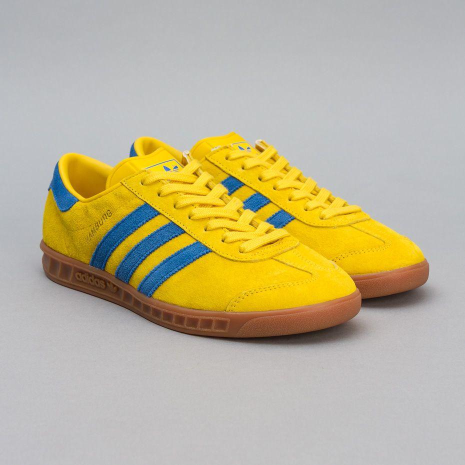 adidas hamburg yellow and blue