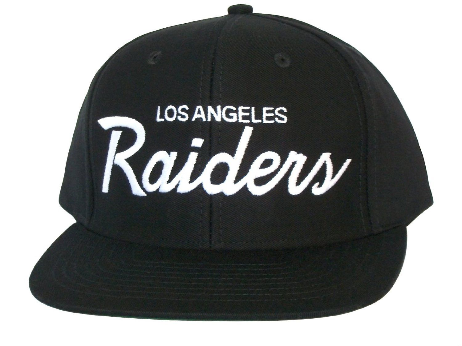 81021762516 LOS ANGELES LA RAIDERS Script Snapback Hat - NFL Cap - Black  Amazon.co.uk   Sports   Outdoors