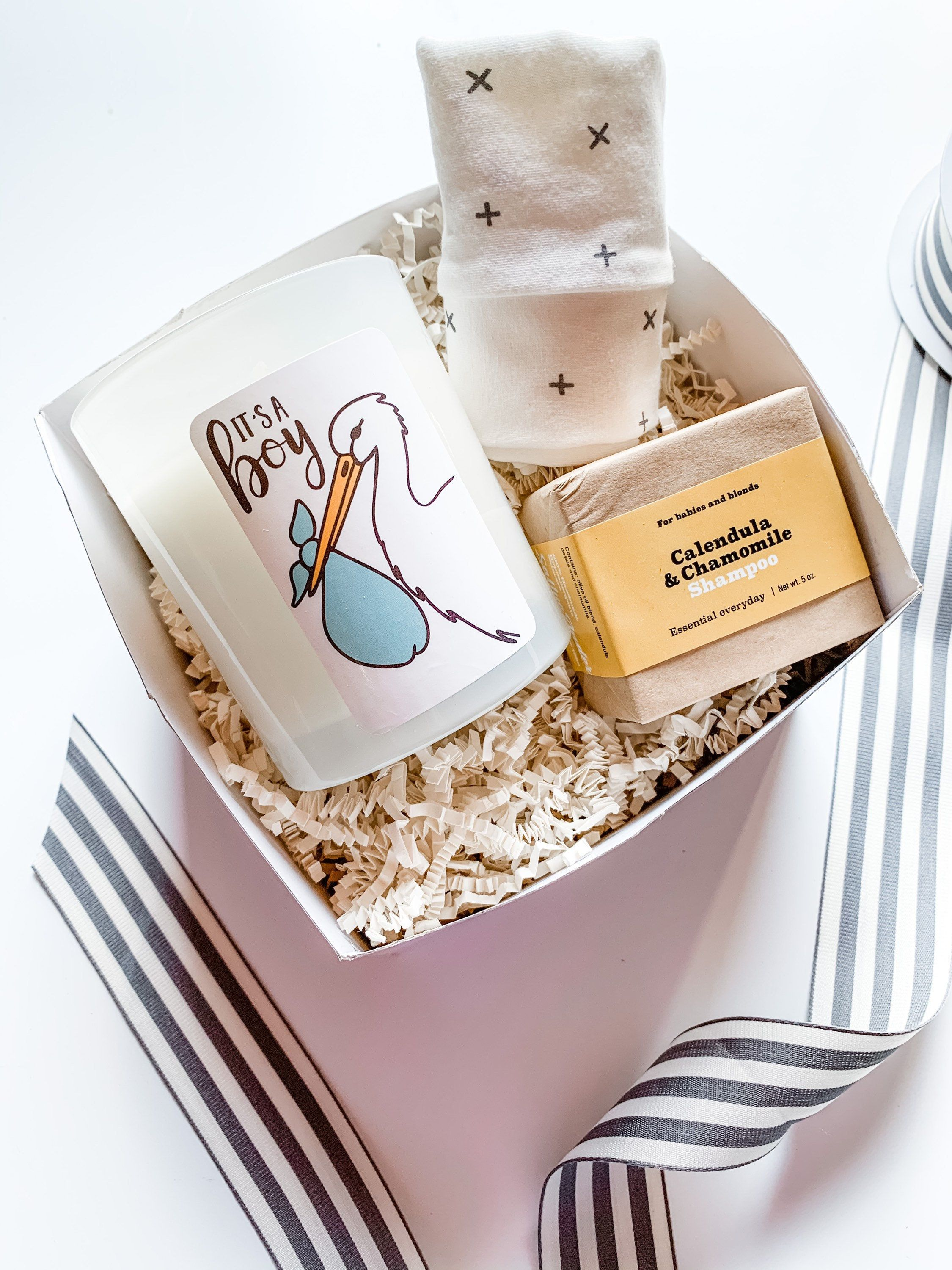 Its a boy gift box new mom gift basket baby shower gift