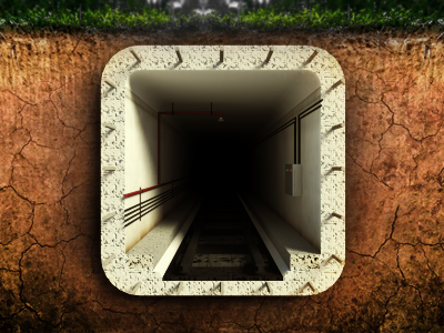 Abandoned Subway - #iOS #Icon