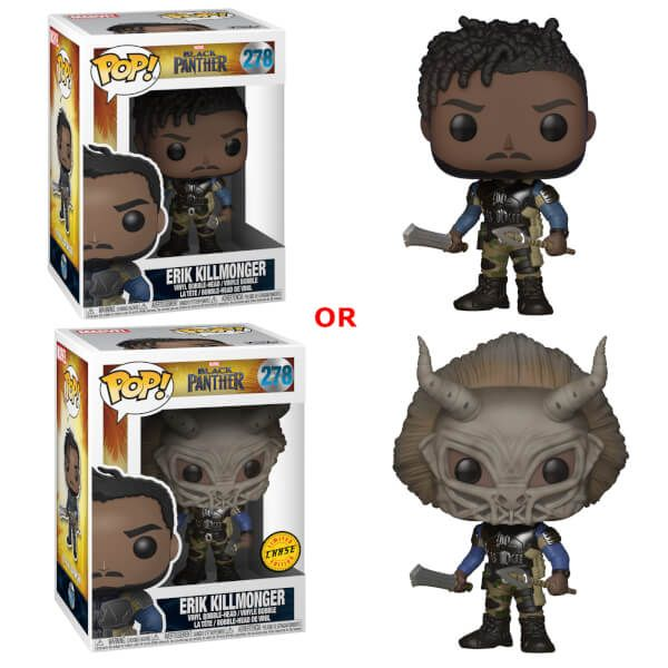 Black Panther Erik Killmonger Funko Pop Vinyl Vinyl Figures Funko Pop Dolls Black Panther