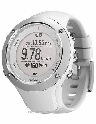 2e879fc89cf9 Suunto Ambit2 S White GPS Watch for Women - Altimeter and Compass - Dual  Time