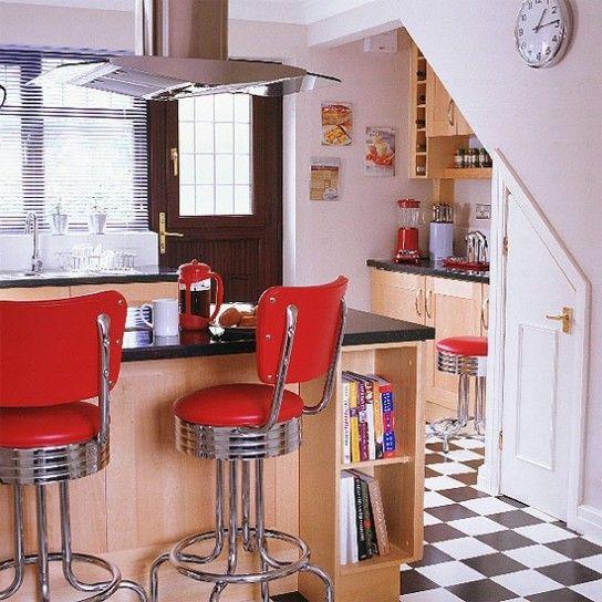 Contemporary kitchen inspired by 60s - Cucina contemporanea ...