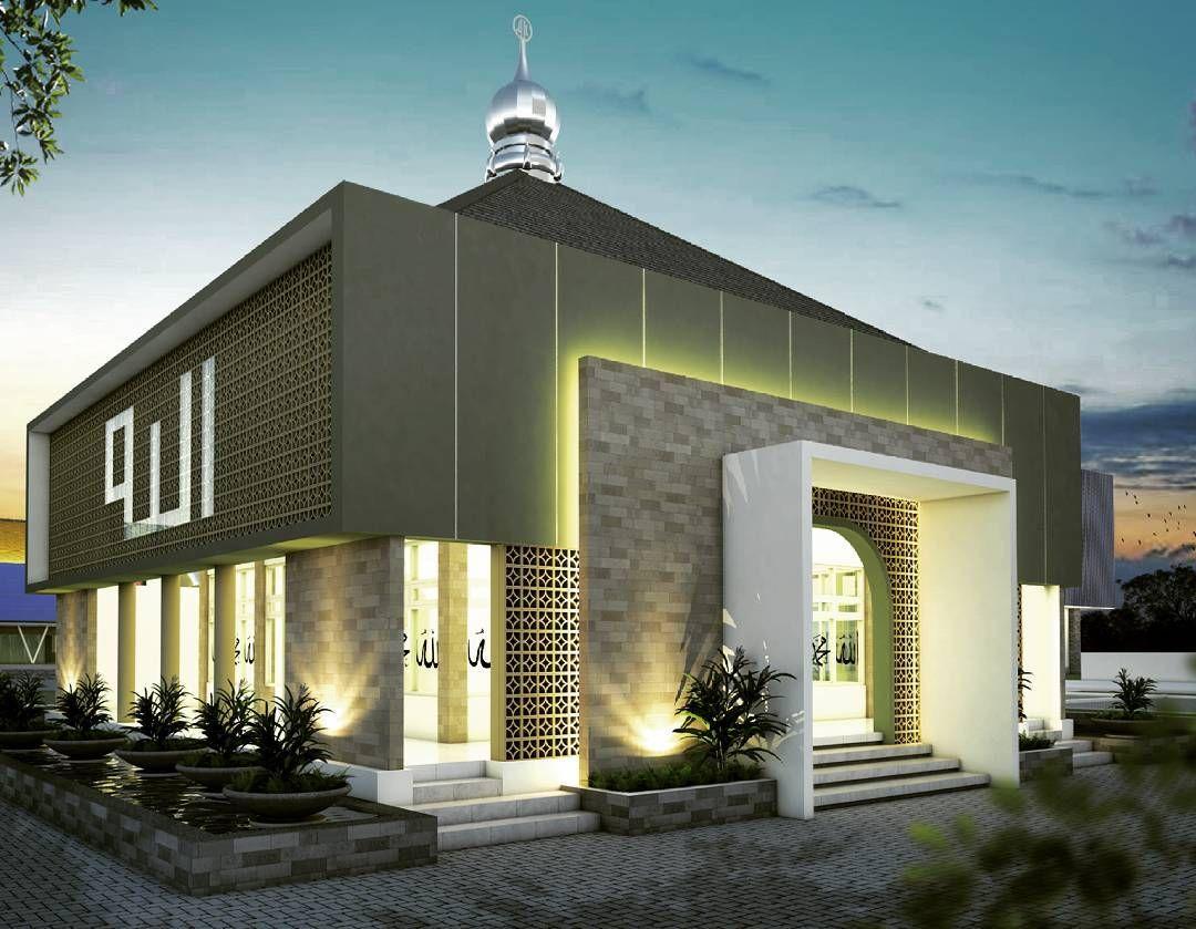 Small mosque design di 2019 arsitektur desain arsitektur