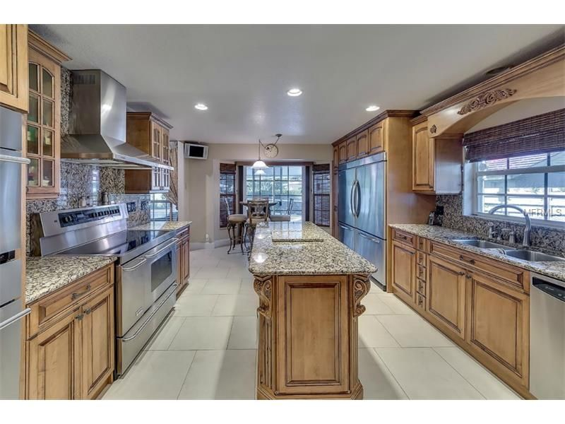 The is my kitchen. We are listed for sale :)