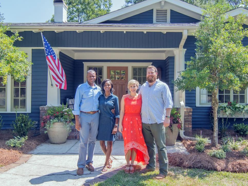 Ben And Erin Napier Help A Military Family With Three Young Kids