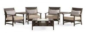 Thomasville Nature S Retreat Outdoor Set Replacement Cushions Patio Furniture Settings