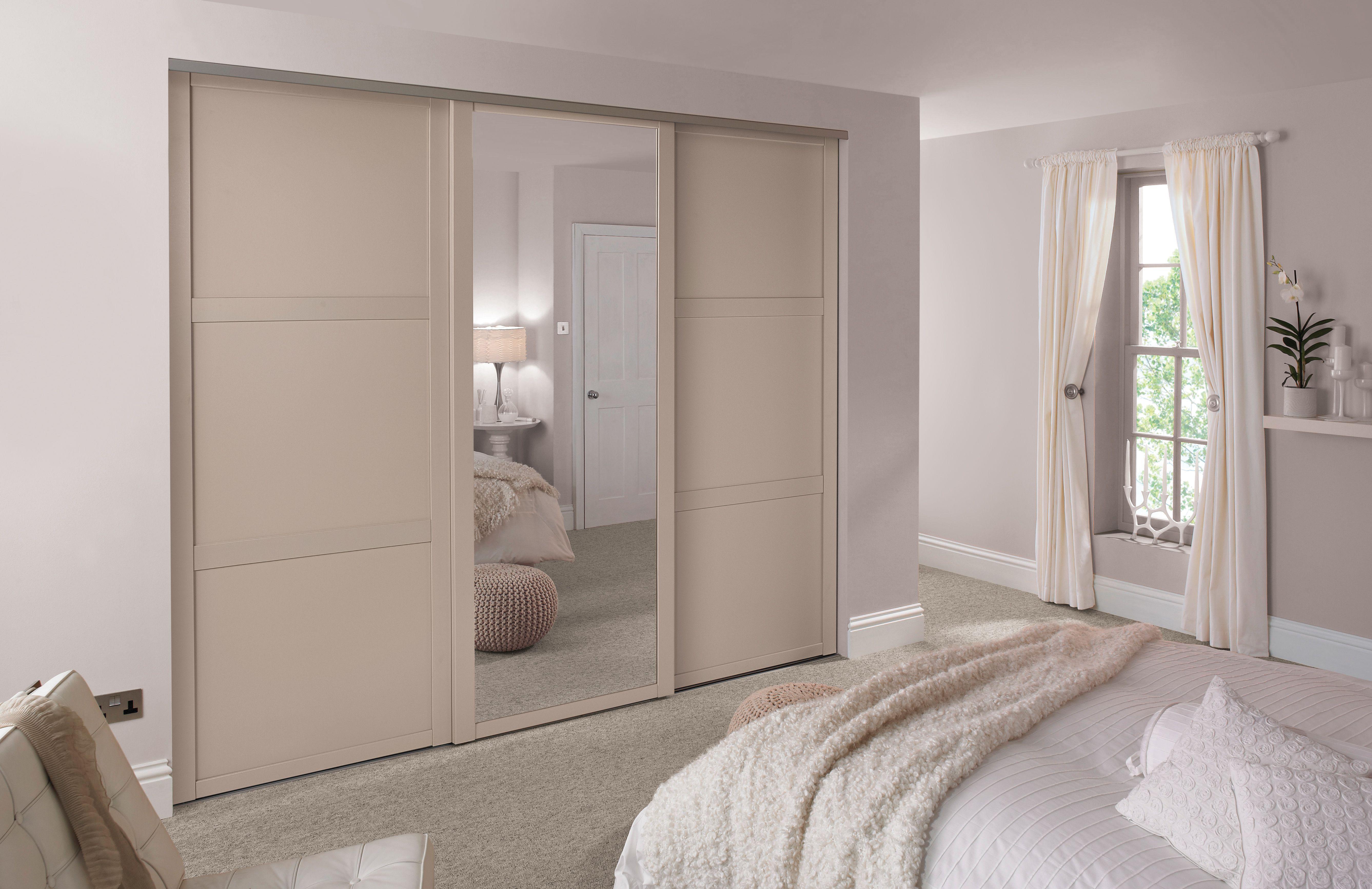 Cashmere sliding wardrobe doors Sliding wardrobe doors