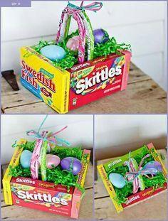 Diy edible easter egg basket easter baskets easter and easter diy edible easter egg basket negle Image collections