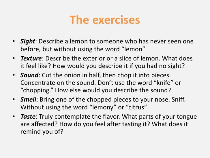 Creative writing using five senses google search creative creative writing using five senses google search fandeluxe Image collections