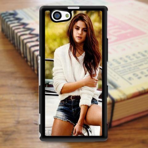 Selena Gomez Beautiful Singer Sony Experia Z3 Case