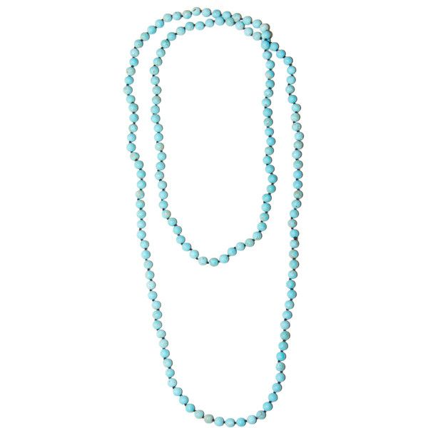 Millie Stone Necklace from HandPicked (64 CAD) ❤ liked on Polyvore featuring jewelry, necklaces, stone charms, layered necklace, beading jewelry, stone jewellery and stone jewelry