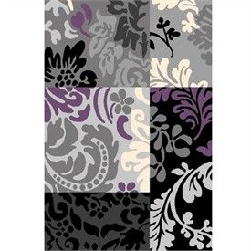Grey And Eggplant Bathroom Urban Gray Black And