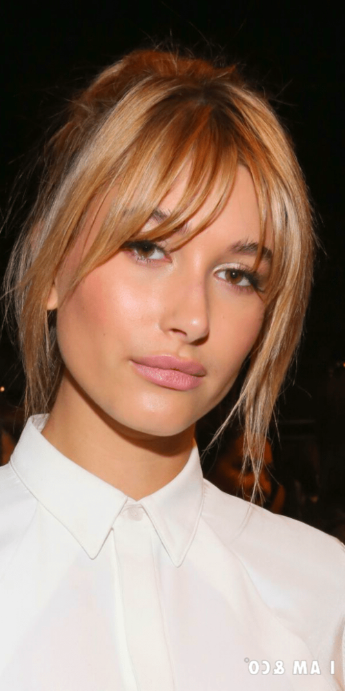 Bangstyle Hair Medium Hair Nails Wispy Bangs Inspo That Ll Make You Take The Plunge Wispy Fringe Wisp In 2020 Medium Hair Styles Blonde Hair Makeup Hair Styles