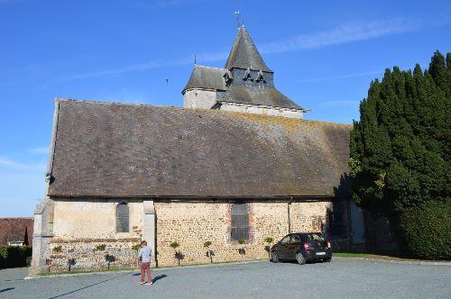 Eglise Saint-Martin te Ambenay (Eure 27)