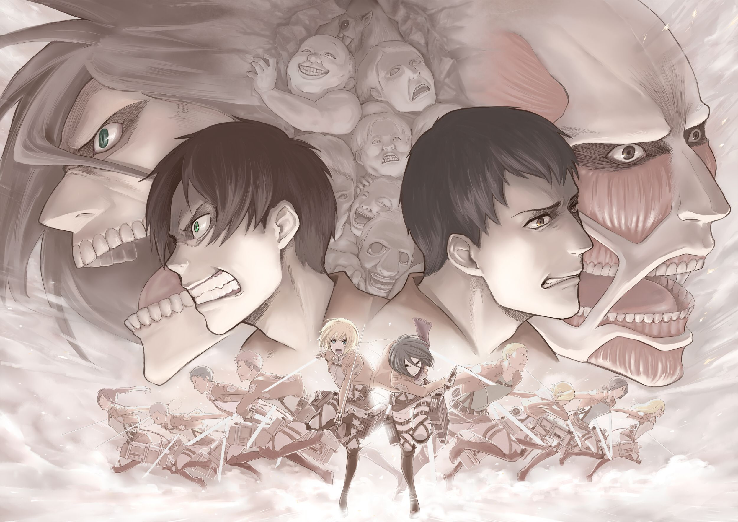 Anime Attack On Titan Attack On Titans Wallpaper Attack On Titan Anime Attack On Titan Levi Attack On Titan