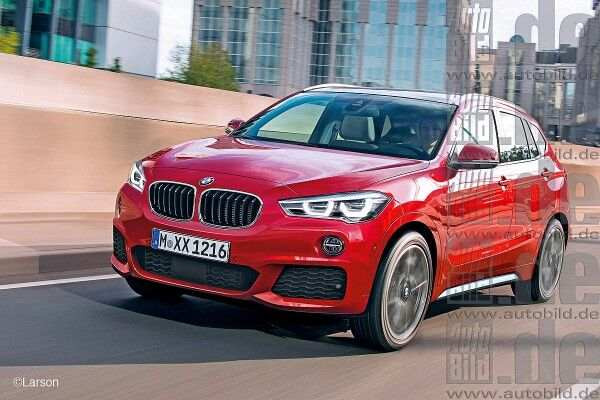 Bmw X1 Red Colour
