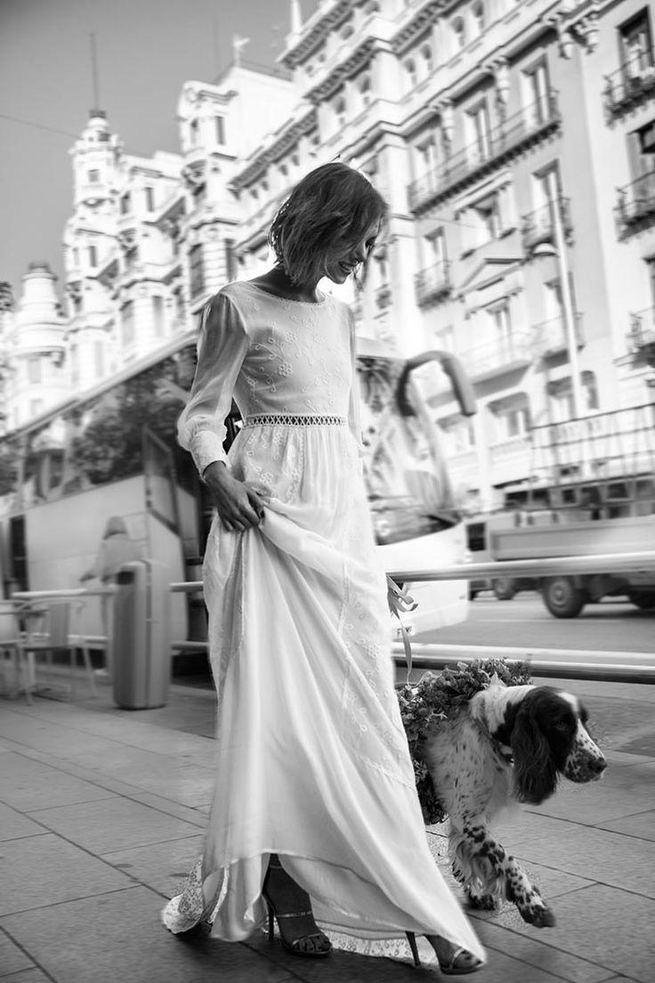 25 long sleeve wedding dresses and neck box that are pure elegance    Vestidos de Novia