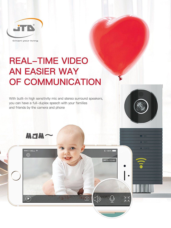 55+ Surveillance Camera for Baby Room Bedroom Closet