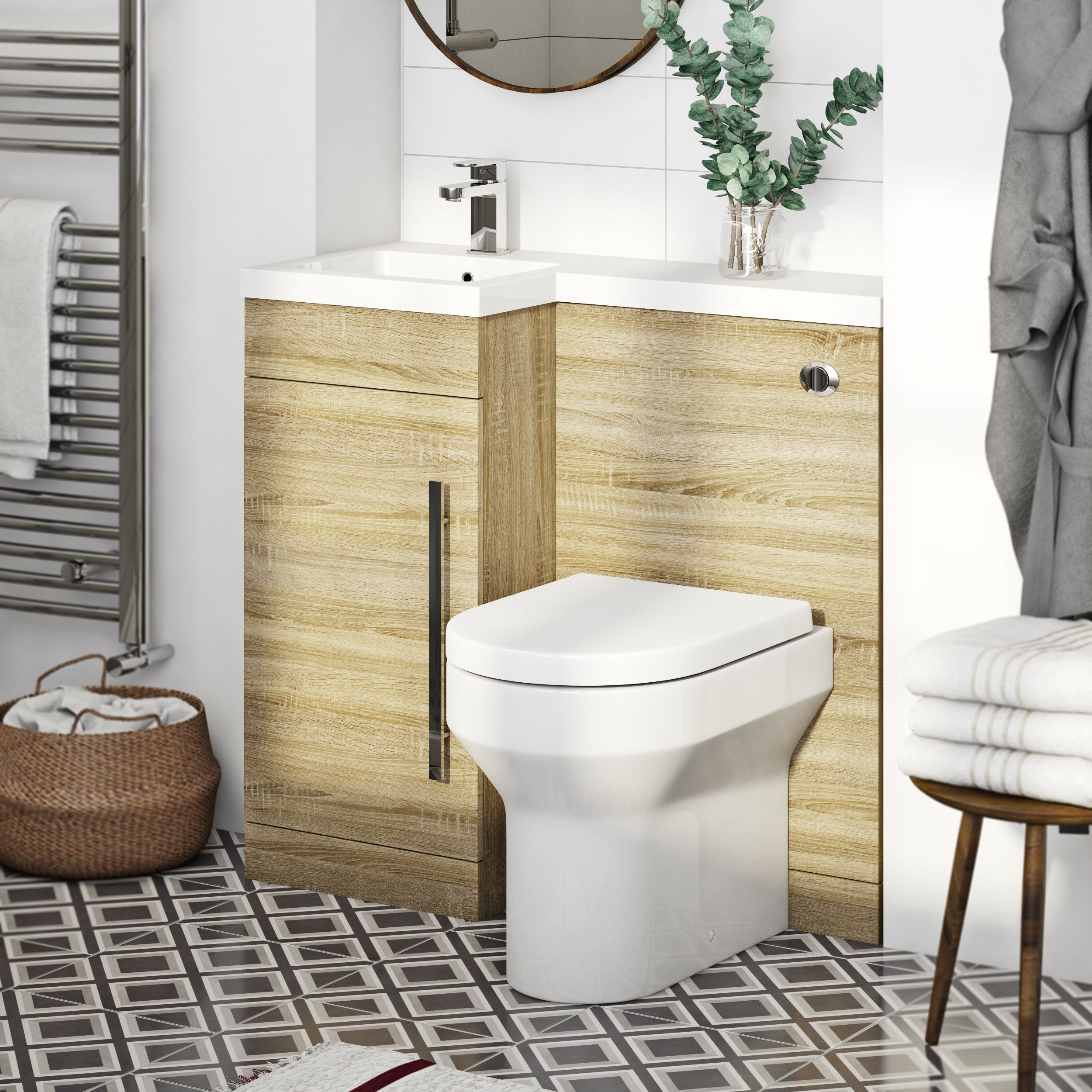 Small bathroom or cloakroom causing you space issues? Style it your ...