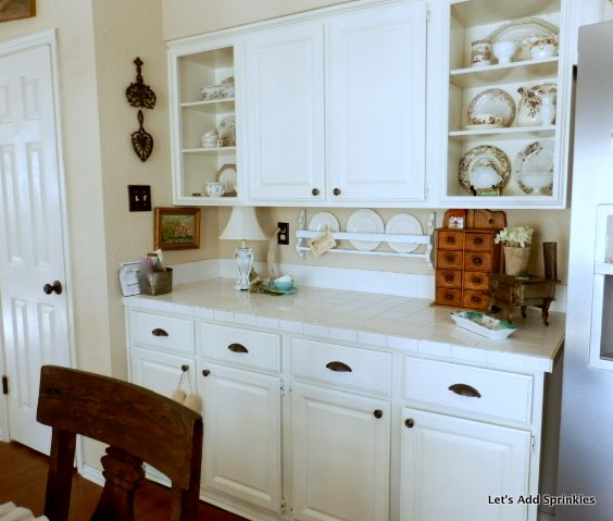 Open Shelving Instead Of Upper Cabinets Upper Cabinets Open