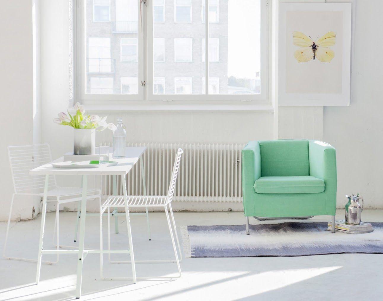 Miraculous Klappsta Armchair Cover Loose Fit Ikea Makeover Dining Inzonedesignstudio Interior Chair Design Inzonedesignstudiocom