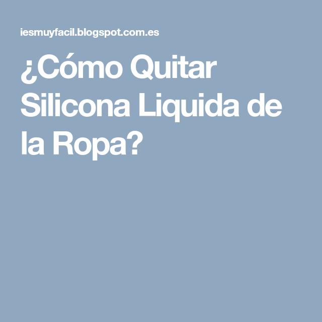 Como quitar silicona liquida del vidrio