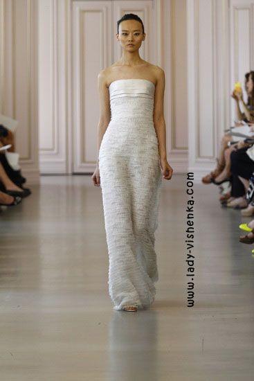11. Weiße brautkleider Oscar De La Renta | Brautkleider | Pinterest