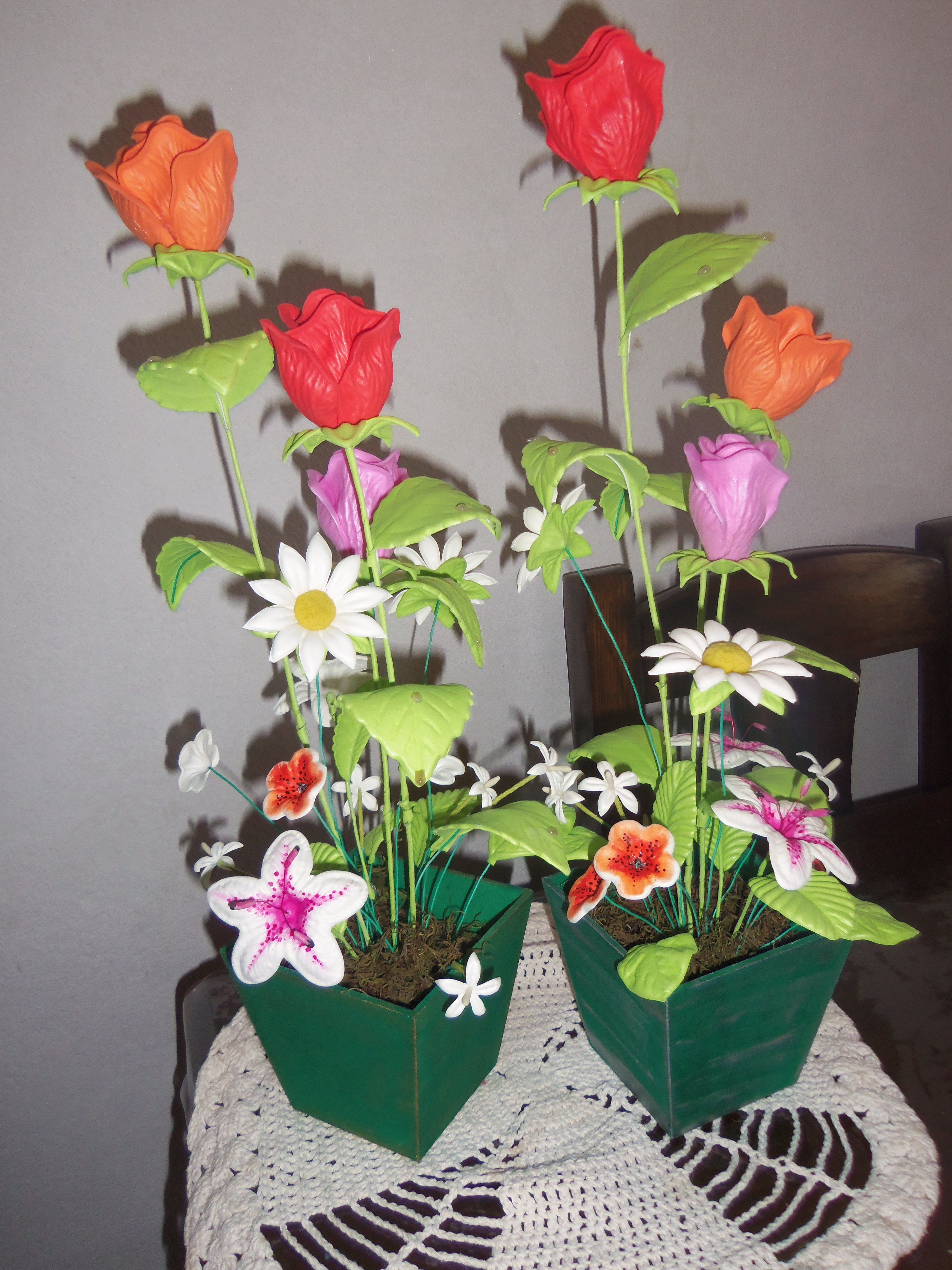 Arreglo Floral Arreglos Florales Artesanato Em Eva