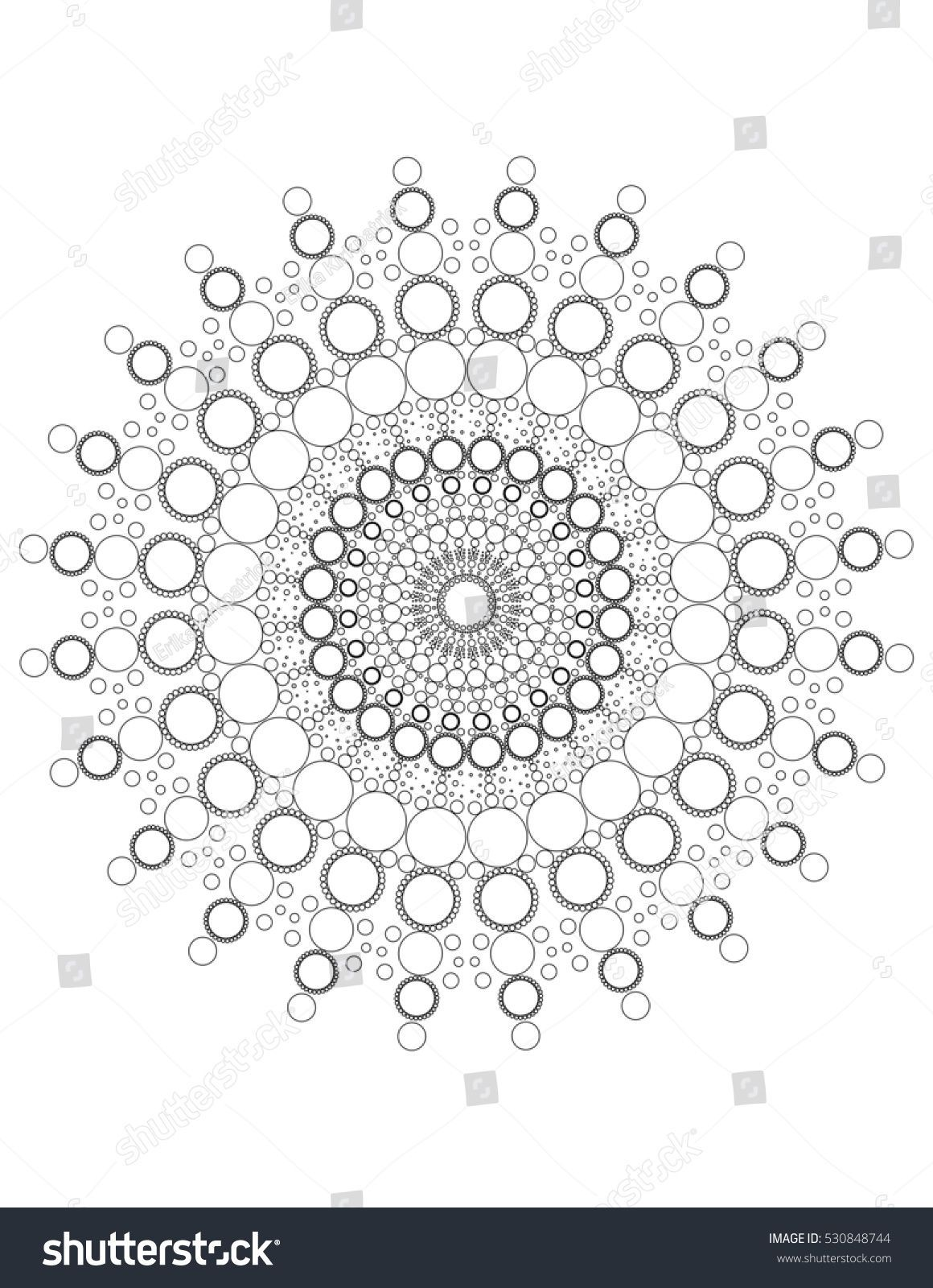 Mandala Dots Coloring Page Color Me Patterns Mandala Painting Mandala Kunst Muster Malerei Mandala Kunstunterricht