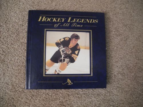 Hockey Legends of All Times by Morgan Hughes (1996 Copyright, Hardcover)