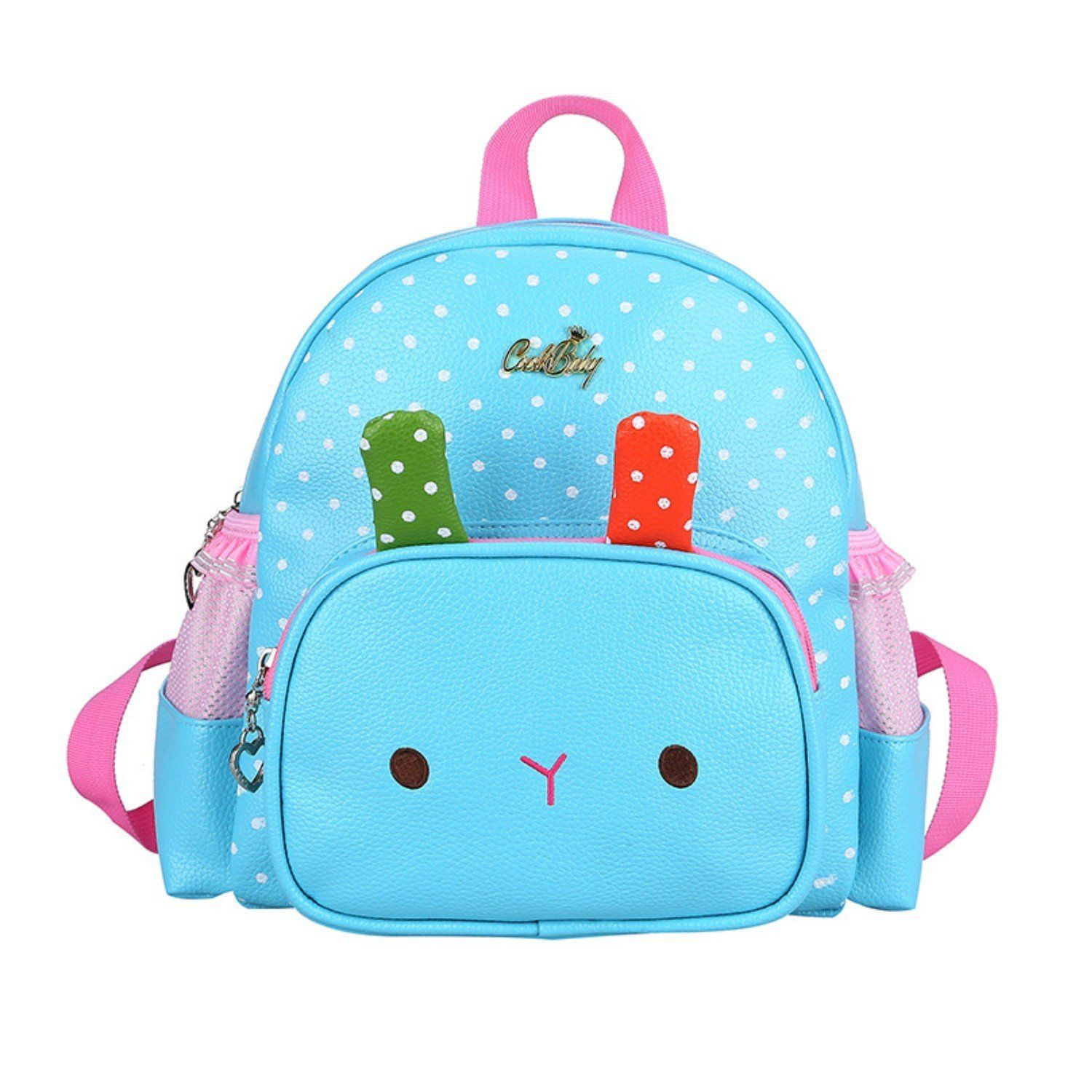 34aa3cb3d8 Moonwind Cute Bunny Kindergarten Kids Toddler Backpack Leather Book Bag  Girls    Learn more by visiting the image link. (This is an Amazon  Affiliate link ...