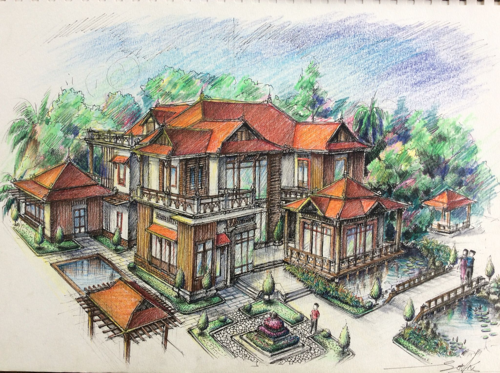Nice Khmer House Wooden House Design, Small House Design, Asian Style,  Traditional Dresses,