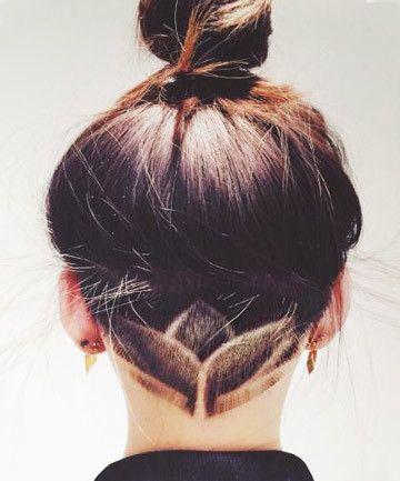 Simple Lotus Hair Styles Undercut Hair Designs Undercut