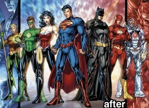 Following My Top 10 Best Superhero Villain Redesigns It Seems Only Appropriate That We Take A Look At Some Of Justice League New 52 Justice League Superhero
