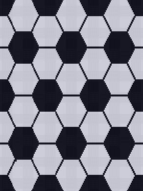 Crocheting: Soccer Craze - Graph Chart
