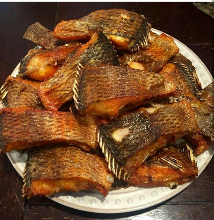 Poissons Frits Benin African Food African Cooking West African Food