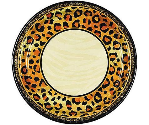 Leopard Print Dinner Plates 8ct - Party City  sc 1 st  Pinterest & Leopard Print Dinner Plates 8ct - Party City | Party - Big Cats ...