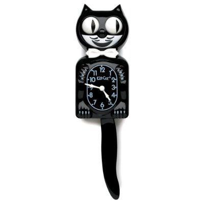 pendule chat kit kat clock noire d co am ricaine petite d co et cie pinterest pendule. Black Bedroom Furniture Sets. Home Design Ideas
