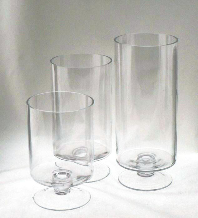 Wholesale Clear Round Glass Hurricane Vases Buy Glass Hurricane