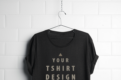 Download Realistic Hanging T Shirt Mock Up Psd Free Design Resources Shirt Mockup Free Logo Mockup Tshirt Mockup