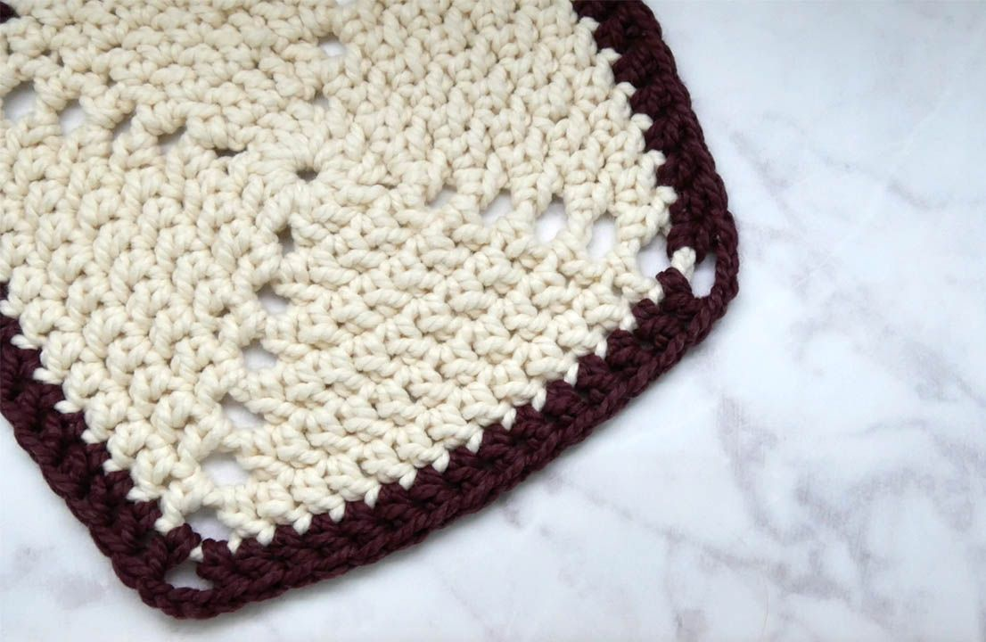 How to Crochet a Solid Granny Square | Granny squares, Squares and ...